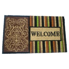 Welcome 3 Printed Doormat