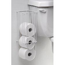 Over the Toilet Tank Tissue Holder