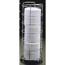 Freestanding Wire Toilet Paper Basket
