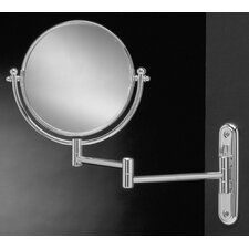 Wall-Mount Swinging Arm 4X Magnifying Mirror
