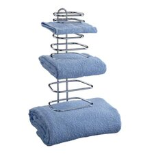 Wall Mounted Three Guest Towel Rack