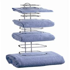 Wall Mounted Four Guest Towel Rack