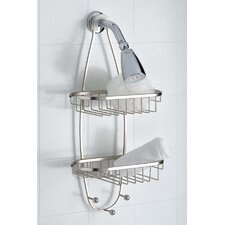 <strong>Taymor Industries Inc.</strong> Shower Caddy with Hooks