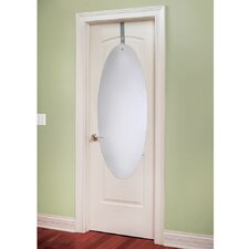 Over-The-Door Mirror with Adjustable Bracket
