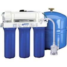 Five Stage EPA / ETV Verified Reverse Osmosis System with Monitor Faucet