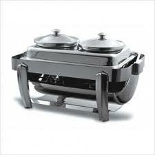 Oblong Stainless Steel Soup Station Kit