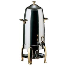"<strong>SMART Buffet Ware</strong> ""Save on Additional Items""-Odin 5 Gallon Coffee Urn with Brass Plated Legs"