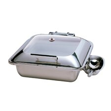 Square Chafing Dish with Glass Lid