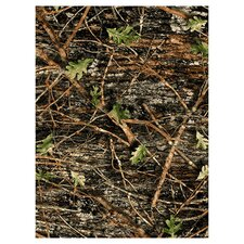 <strong>Custom Printed Rugs</strong> Wildlife Concealed Green Camo Novelty Rug