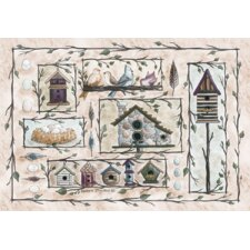 Home Accents Bird Houses Novelty Rug
