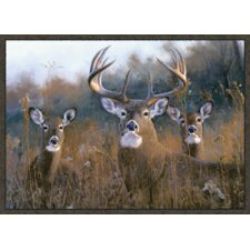 Wildlife Buck Stops Here Novelty Rug