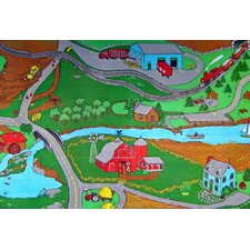 Custom Printed Rugs Farm