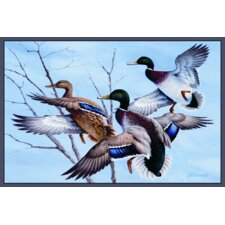 Wildlife Mallards Novelty Rug