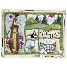Home Accents Tee Time Novelty Rug