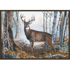 Wildlife Whitetail Novelty Rug