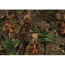 Wildlife Mixed Pine Novelty Rug