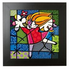 Reliefbild Ballet Dancer - 50 x 50 cm
