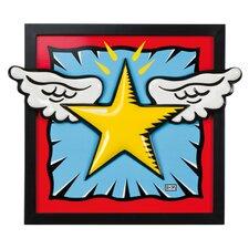 Wandbild SuperStar! - 43,5 x 51 cm