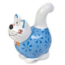 8 cm Salz-/ Pfefferstreuer Micha Mauz Alles für die Katz aus Porzellan