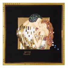 Wandbild Der Kuss - 28,5 x 28,5 cm