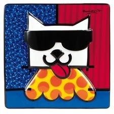 Wandbild LA Cat - 15 x 15 cm