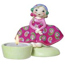 Teelichthalter Sugar Babe Romance Zuckerpuppen