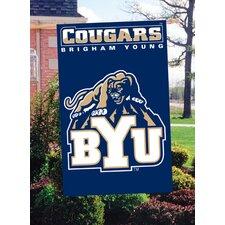 NCAA Appliqué House Flag