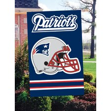 NFL Appliqué House Flag