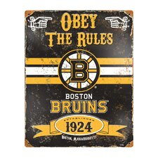 NHL Vintage Metal Sign