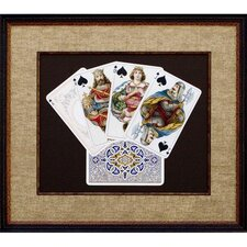 <strong>Phoenix Galleries</strong> Royal Flush Framed Print