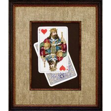 <strong>Phoenix Galleries</strong> King of Hearts Framed Print