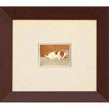 Puppy - Naptime (Mini) Framed Print