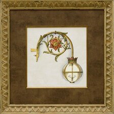 <strong>Phoenix Galleries</strong> Gas Lamp IV Framed Print