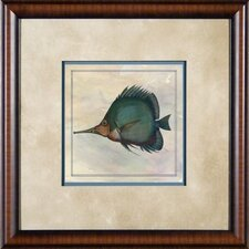 "Tropical Fish 4 Framed Print - 21""x 21"""