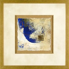 Blue Gold 1 Framed Print