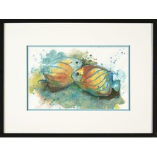 Angel Fish 4 Framed Print