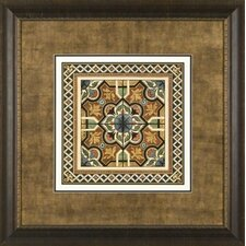 <strong>Phoenix Galleries</strong> Textile Motif 2 Framed Print