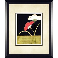 <strong>Phoenix Galleries</strong> Lotus Arabesque 3 Framed Print