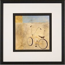 My Bike Framed Print