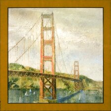 <strong>Phoenix Galleries</strong> Golden Gate Canvas Transfer Framed Print