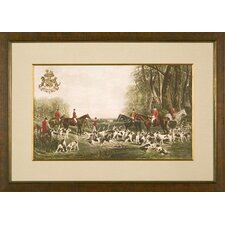 <strong>Phoenix Galleries</strong> The Quorn Hounds Framed Print