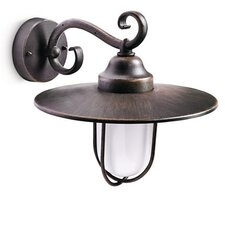 Pasture 1 Light Outdoor Wall Semi-Flush Light