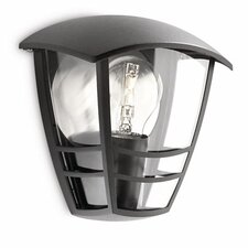Creek 1 Light Outdoor Wall Flush Light