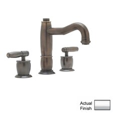 Gotham Double Handle Widespread Bathroom Faucet with Pop-Up Waste and Lever Handle