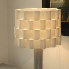 "17"" Loop Synthetic / Natural Felt Drum Lamp Shade"