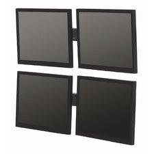 "Double-Level Multiple Displays Tilt Universal Wall Mount for up to 22"" LCD"