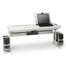 """SmartDeck 66"""" W  x 24"""" D Computer Table"""