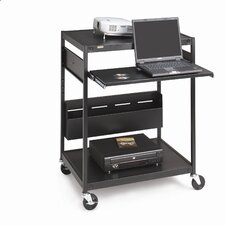 "32"" Wide Mobile Projector Cart"