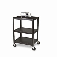 "<strong>Bretford Manufacturing Inc</strong> 34"" High UL Listed Audio Visual Cart"