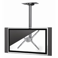 "Single Monitor Universal Flat Panel Ceiling Mount (30"" - 60"" Screens)"